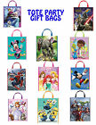 PARTY GIFT TOTE BAGS  Jurassic World Minions Star Wars Disney Frozen Spiderman +
