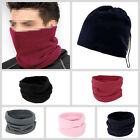 3 in1 MENS LADIES UNISEX POLAR NECK WARMER SNOOD SCARF SKI MOTORBIKE MASK HC