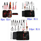6 10 14pc Garden Plant Kit Bonsai Tools Cutter Scissor Trimming Equipment Set AU
