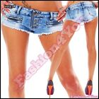 Sexy Women's Denim Shorts Ladies Summer Casual Hot Pants Size 6,8,10,12,14 UK