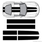 Chevy Corvette EZ Rally Racing Stripes 3M Vinyl Stripe Decals Graphics