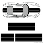 Porsche 911 or Cayman Dual Rally Racing Stripes 3M Vinyl Stripe Decals