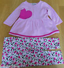 Juicy Couture baby girl dress & leggings 6-12 m BN New outfit designer
