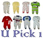 BOYS FLEECE SLEEP PLAY OUTFIT FOOTIE SLEEPER FOOTED ONE PIECE CHILDRENS MICRO