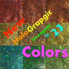 Chunky Hex .035 Glitter Craft art Nails Scrapbooking Decor Cards paper lot holo