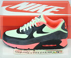 Nike Air Max 90 Essential Vapor Green Infrared Black Grey 537384-303 US 8~12