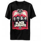 Black Sabbath: Red Flames T-Shirt  Free Shipping  NEW  Official