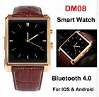 DM08 Bluetooth Smart Wrist Watch Phone For Android&IOS Iphone Samsung IPS 1.54""