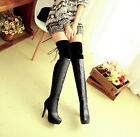 2015 FASHION OVER THE KNEE THIGH LEG LADIES BOOTS HIGH HEELS WOMENS PARTY BOOTS
