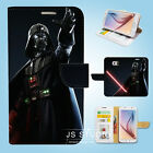 Samsung Galaxy S3 4 5 6 7 8 Edge Plus Note Wallet Case Cover Star Wars W05 $12.99 AUD on eBay