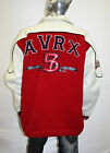 Men's Avirex Red/White Reversable Jacket
