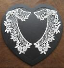 Ivory / off white pretty guipure lace collars £2.25/pair or 5 pairs for £8