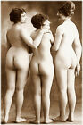 Freedom A4 or A3 Size Sepia Erotic Female Nude Retro PHOTO REPRINT by RussellArt