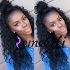 "14"" ~ 22"" Full/Front Lace Wigs 100% Brazilian Human Hair Body Curly Density 150%"