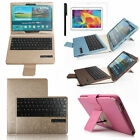 "For Samsung Galaxy Tab S 8.4"" T700 Luxury Leather Case Cover&Bluetooth Keyboard"