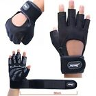 Men's Weightlifting Training Body Building Fitness Gym Gloves Breathable Workout