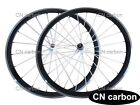 20.5,23mm width 38mm Clincher carbon bicycle wheels alloy braking surface
