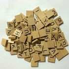 PICK & MIX wooden scrabble tiles wooden scrabble numbers & letters UK SELL