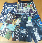 Quiksilver boy swim, board shorts  11-12, 13-14, 15-16 y BNWT beach