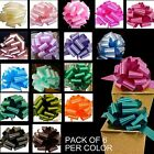 "6 Large 9"" Pull Bows Git Wrap Party Wedding Graduation Christmas Decorations"