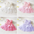 Baby Girl Clothes Toddler Kids Rose Lace Dress Party Birthday Gift Outfit 0-12M