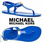 MICHAEL Michael Kors MK Plate Jelly Fashion Sandals Beach Pool Summer  NIB