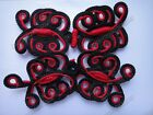 Butterfly Extra Large Size Sewing Chinese Closure Knot Fasteners Frog Buttons
