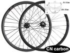 "Bead Hookess 29"" Mountain DH carbon bicycle wheels 35mm wide x25.5mm Tubuless"