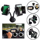 Universal Dual Car Phone Holder Mount Mobile Stand Suction Cradle Windscreen GPS