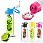 NEW 700ML Fruit Fuzer Infusing Infuser Water Bottle Sports Health Juice Maker
