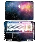 KH Star Glitter Leather Skin Cover Guard Protector For DELL Alienware M17X R3 R4