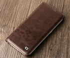 QIALINO Genuine Leather Wallet Flip Case Cover for Samsung S6 & Edge & Edge+
