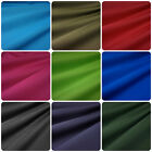 Lightweight Soft Water Resistant Polyester Fabric - 13 Colours (Per Metre)