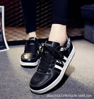 Fashion Womens Lace up Sneakers Casual Walking Running Shoes Skateboard