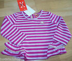 No added sugar baby girl top 3 m, 6 m BNWT designer party gold pink