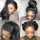 silky Brizilian straight 100% human hair full/front lace wig with baby hair