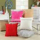 Bed Sofa Throw Pillow Home Decor Case Cushion Cover Square Flower Pattern MPF
