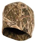 DRAKE Waterfowl Systems Windproof Fleece Stocking Camo Hunt Cap BeanieHats & Headwear - 159035