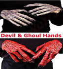HALLOWEEN UNISEX DEVIL AND GHOUL HALLOWEEN HORROR HANDS FANCY PARTY DRESS