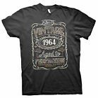Vintage Aged To Perfection 1964 - Distressed Print - 51st Birthday Gift T-shirt