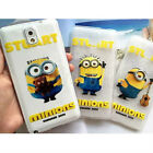 New Minions Cartoon TPU Soft Case Cover For Samsung Galaxy Note 3 & Note 4