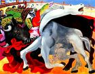 Pablo Picasso death torero canvas print giclee 8X12 & 12X17 reproduction