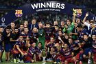 FC Barcelona - Super Cup Winners 2015 - A1/A2/A3/A4 Poster / Photo Print