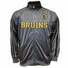 New Majestic NHL Boston Bruins Mens Track Jacket Officially Licensed!!!