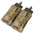 Condor MA51-008 Multicam MOLLE Double Kangaroo Rifle / Pistol Mag Pouch NIP