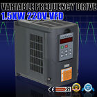 2HP 1.5KW VFD DRIVE INVERTER CALCULOUS PID PERFECT MOTOR CLOSED-LOOP 3 PHASE