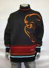 Men's Studio by Southpole Black/Orange Sweater