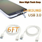 Brand new 6ft USB 3.0 Data Charger Cord Sync Cable For Samsung Galaxy S5 Note 3