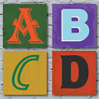 Alphabet Canvas Art Print - Cool Design Your Own Presonalised Gift