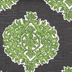 Madras Jade Green & Gray Medallion Sham